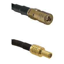SSMB Female on LMR100 to SLB Male Cable Assembly