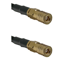 SSMB Female on LMR100 to SSLB Female Cable Assembly