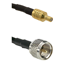SSMB Male on LMR100 to Mini-UHF Male Cable Assembly