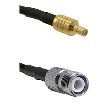 SSMB Male on LMR100 to TNC Reverse Polarity Female Cable Assembly
