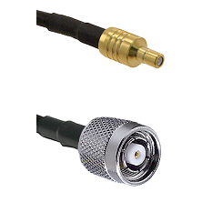 SSMB Male on LMR100 to TNC Reverse Polarity Male Cable Assembly