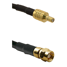 SSMB Male on LMR100/U to SMC Female Cable Assembly