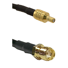 SSMB Male on LMR100 to SSMA Female Cable Assembly