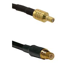 SSMB Male on LMR100/U to SSMC Male Cable Assembly