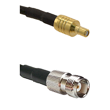 SSMB Male on LMR100 to TNC Female Cable Assembly