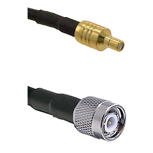 SSMB Male on LMR100 to TNC Male Cable Assembly