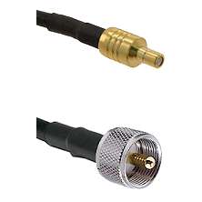 SSMB Male on LMR100 to UHF Male Cable Assembly