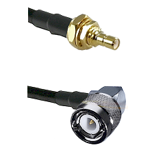 SSMB Male Bulkhead Connector On RG188A/U To C Right Angle Male Connector Cable Assembly