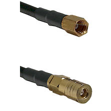 SSMC Female on RG188 to SSMB Female Cable Assembly