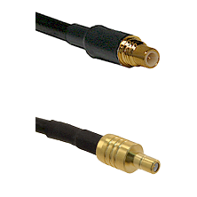 SSMC Male on RG188 to SSMB Male Cable Assembly