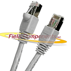 Shielded Cat5e Patch Cable With Boots