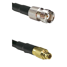 TNC Female on LMR100 to MMCX Male Cable Assembly