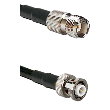 TNC Female Connector On LMR-240UF UltraFlex To MHV Male Connector Cable Assembly