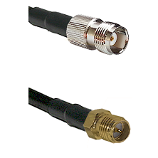 TNC Female on LMR240 Ultra Flex to SMA Reverse Polarity Female Cable Assembly