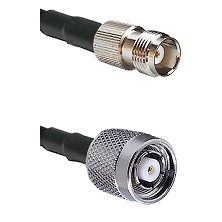 TNC Female on LMR240 Ultra Flex to TNC Reverse Polarity Male Cable Assembly