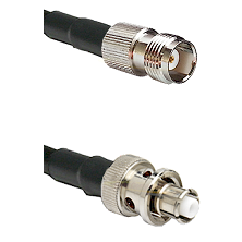 TNC Female Connector On LMR-240UF UltraFlex To SHV Plug Connector Cable Assembly