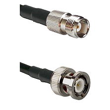 TNC Female on RG142 to BNC Male Cable Assembly