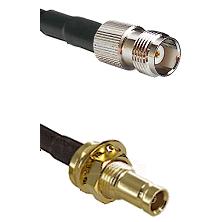 TNC Female on RG58C/U to 10/23 Female Bulkhead Cable Assembly