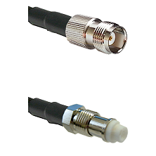 TNC Female on RG58C/U to FME Female Cable Assembly