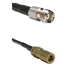 TNC Female on RG58C/U to SLB Female Cable Assembly