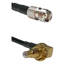 TNC Female on RG58C/U to SLB Male Bulkhead Cable Assembly