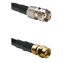 TNC Female on RG58C/U to SMC Male Cable Assembly