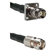 TNC 4 Hole Female on LMR-195-UF UltraFlex to TNC Female Cable Assembly
