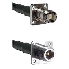 TNC 4 Hole Female on RG58C/U to N 4 Hole Female Cable Assembly
