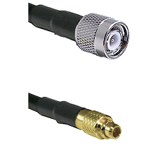 TNC Male To MMCX Male Connectors Belden 83242 RG142 Cable Assembly