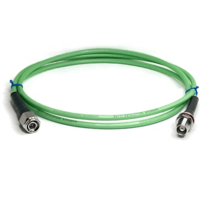 TNC Male to TNC Female Bulkhead LL142 Cable Assembly 18GHz