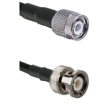 TNC Male on LMR100 to BNC Male Cable Assembly