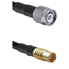 TNC Male on LMR100 to MCX Female Cable Assembly