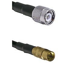 TNC Male on LMR100 to MMCX Female Cable Assembly