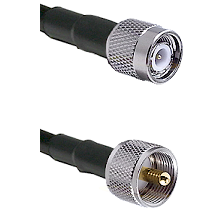 TNC Male On LMR400UF To UHF Male Connectors Ultra Flex Coaxial Cable