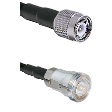 TNC Male on RG142 to 7/16 Din Female Cable Assembly