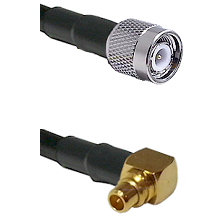 TNC Male on RG188 to MMCX Right Angle Male Cable Assembly