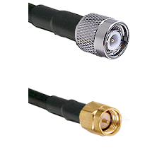 TNC Male Plug on RG316/U to SMA Male Plug 24 inches long Coaxial / RF cable