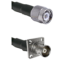 TNC Male on RG400 to C 4 Hole Female Cable Assembly