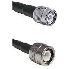 TNC Male on RG400 to C Male Cable Assembly