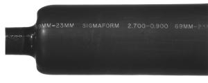 TUB-S2700A-BK6 RF Industries SHRINK TUBE, ADHESIVE LINED, BLACK, 6 LMR-900, 1200, 1700
