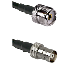 UHF Female on RG142 to C Female Cable Assembly