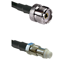 UHF Female on RG400 to FME Female Cable Assembly