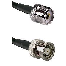UHF Female on RG58C/U to BNC Reverse Polarity Male Cable Assembly