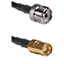UHF Female on RG58C/U to SMB Female Cable Assembly