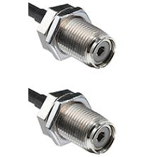 UHF Female Bulk Head On LMR400UF To UHF Female Bulk Head Connectors Ultra Flex Coaxial Ca