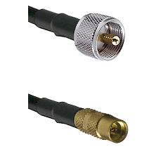 UHF Male on LMR100 to MMCX Female Cable Assembly