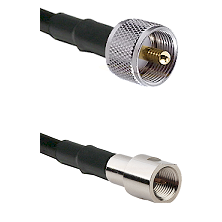 UHF Male on LMR200 UltraFlex to FME Male Cable Assembly