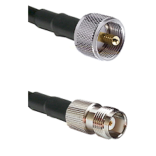 UHF Male on LMR240 Ultra Flex to TNC Female Cable Assembly