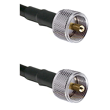 UHF Male To UHF Male Connectors RG178 Cable Assembly