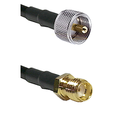 UHF Male on RG188 to SSMA Female Cable Assembly